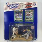 1989 ALAN TRAMMELL & JOSE CANSECO Starting Lineup One on One Figure & Card (141)