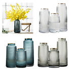 Glass Flower Vase Tabletop Container Jar Wedding Home Decor Table Decorative