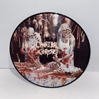CANNIBAL CORPSE BUTCHERED AT BIRTH PICTURE DISC DEATH METAL LP VINYL MEGA RARE