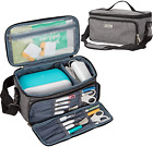 Sewing Machine Carrying Case Lightweight Travel Tote Bag for Cricut Joy Tool Set