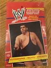 2012 Topps Heritage WWE factory sealed Box 24 packs NEW - wrestling auto relic!