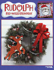 Rudolph The Red Nosed Reindeer  Characters plastic canvas pattern book NEW rare
