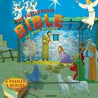 BIRTH OF JESUS BIBLE GAMES FOR KIDS PUZZLE BLOCK BIBLE By Scandinavia NEW