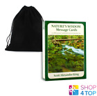 NATURES WISDOM MESSAGE MINI CARDS AND BAG AFFIRMATION DECK ANIMAL DREAMING NEW