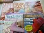 5 Back Issues 2008 Handwoven Magazines in very good shape