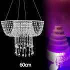 Hanging Crystal Cake Stand Romantic Acrylic Garland Suspended Cake Display Stand
