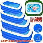 Family Swimming Pool Summer Inflatable Outdoor Garden Kids Paddling Pools Large