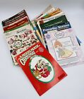 Lot Of 30 Cross Stitch Booklets holiday country Angel Nativity Rare
