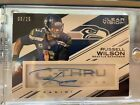 2015 Panini Clear Vision Russell Wilson C-Thru Signatures Auto Autograph 25