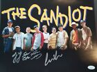 The Sandlot signed 11x14 photo by 4 Squints Yeah Yeah Repeat Timmy JSA coa