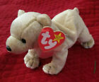 Almond the Bear - Beanie Baby - With error - Original Owner, Great Condition