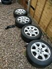 Mercedes SLK [R170] 16inch Alloy Wheels with Tyres - Staggered 7J Front, 8J Rear