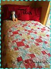 Tiles Quilt Kit using Printemps Fabric by 3 Sisters for Moda