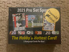 2021 Leaf Pro Set Sports Sealed Emerald Hobby Box 2 Autos 5 or less In Hand
