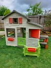 Childrens large Smoby Neo Friends plastic Playhouse + picnic bench