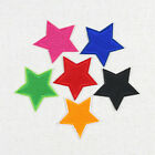 196 Pentagram Iron on Patches Embroidered Star Decorative Badge Patch 5 100pcs