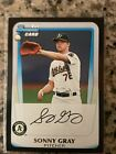 Sonny Gray Rookie Cards and Key Prospect Cards Guide 10