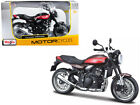 Kawasaki Z900RS Brown 1 12 Diecast Motorcycle Model by Maisto