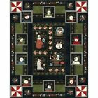 Snowdays Flannel Christmas Quilt Kit by Bonnie Sullivan for Maywood 63 X 78