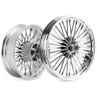 21X35 18X55 Fat Spoke Wheels for Harley Touring Bagger Road Glide King 2009 UP