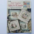 Paula Vaughan Quilts For All Seasons counted cross stitch pattern book VNTG READ
