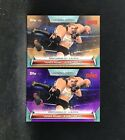 2019 Topps WWE Women's Division Ronda Rousey's Debut Match Bronze & Purple Cards