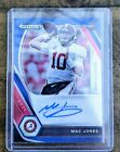 Mac Jones Red White And Blue Prizm Refractor 40 149 RC NFL New England Patriots