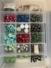 Huge Lot Of Beads Jewelry Making Supplies