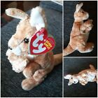 Ty Beanie Baby - RICOCHET the Kangaroo  with pouch baby (7 Inch) May 30 2007