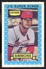 Top 10 Ted Simmons Baseball Cards 30