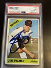 Jim Palmer Cards, Rookie Cards and Autographed Memorabilia Guide 46