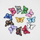 Colorful Butterfly Embroidered DIY Patches Appliques Sew Iron On Patch 5 100pcs