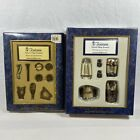 VTG Roman Fontanini Nativity Village Writing Accessories And Musical Instruments