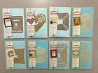 Spellbinders Nestabilities Scalloped Rectangle Heart Square Label Cutting Dies
