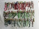 LOT 85 BEAD GALLERY ++ GLASS PLASTIC BEADS STRANDS JEWELRY MAKING NICE VARIETY