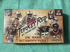 2013 Topps Turkey Red Football Factory Sealed Box Unopened 1 AUTO PER BOX