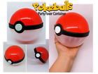 5 Pokeballs party favor containers