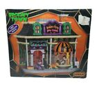 Lemax Spooky Pets Boo-tique Spooky Town Halloween Village Porcelain Lighted 2014