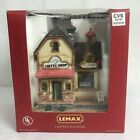 Lemax Bonnie's Coffee Ship Lighted Building Village Collection 2004 Light Works