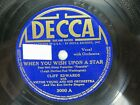 Cliff Edwards DECCA 3000 When You Wish Upon a Star  Ive Got No Strings
