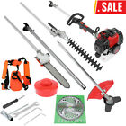 Powerful 52CC 2 Stroke 5 IN1 Gas Straight Shaft Grass Trimmer Brush Cutter Eater