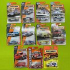 Matchbox Mainlines different series Lot of 11 Police Car Fire Truck Ambulance