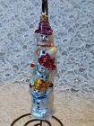 Christopher Radko There Snowman Standing On Each Other's Shoulders Ornament
