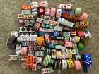 Large Ribbon Lot Grosgrain 7 8 and 1 inch ribbons