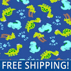 Baby Dinosaurs Fleece Fabric Sold by Yard  Bolt 35979 Free Shipping
