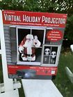 Virtual Holiday Halloween Christmas Projector w Tripod Remote Projection
