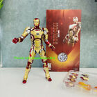New Arrival ZD Iron Man 3 MK42 Action Figure Toy Kids Gift Collection LIMITED