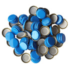 SKY BLUE Beer Bottle CROWNS CAPS 26mm EXCELLENT SEAL QUALITY Home Brew FREE DEL