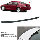 46 Fit For Ford Fusion 2006 2009 Universal Rear Trunk Lip Spoiler PVC Wing