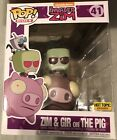 Funko Pop! Rides - Invader Zim -Zim & Gir on The Pig #41 Hot Topic Exclusive!